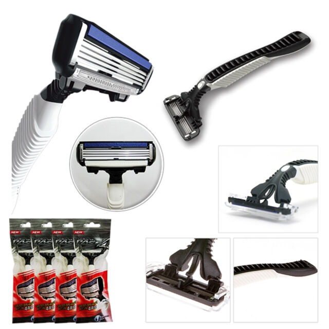 KOREAN BRAND DORCO 4-ply of blades PACE 4 SYSTEM RAZOR SHAVING PACKAGE/ 4 PIECES