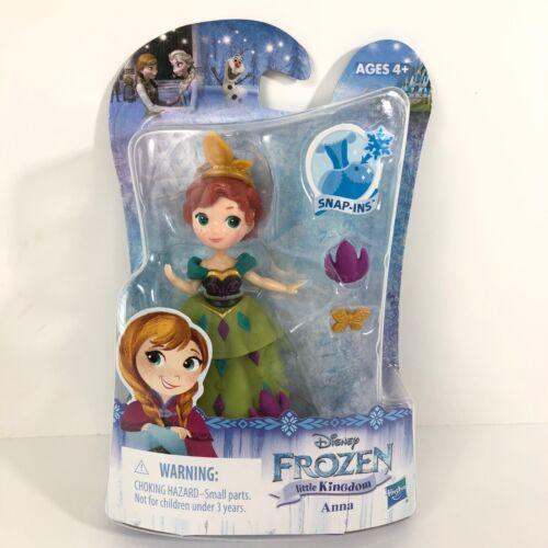 Disney Princess Little Kingdom Frozen Anna Figure Coronation Outfit Snap Ins New