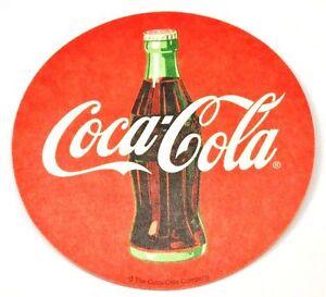 Coca-Cola-Coke-Bierdeckel-Untersetzer-Coaster-USA-2005-Motiv-Flasche