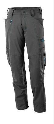 Mascotte Tall Fit Stretch Lavoro Pantaloni 46 Vita X 36 Gamba Misurata Kneepad Tasche-mostra Il Titolo Originale