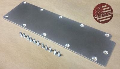 LS Gen4 Billet Aluminum Valley Cover Plate L99 LS3 DOD Delete Lifter Pan SR
