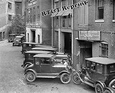 Photograph Vintage McReynolds Auto Lincoln Ford Dealer / Repair  Shop 1926  8x10