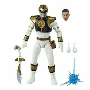 Power Rangers Lightning Collection Mighty Morphin White Ranger CASE FRESH cond.