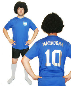Diego-Maradona-Argentina-1986-Football-Fancy-Dress-Costume-ideal-for-Stag-Party