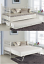 thumbnail 7 - GLOSSY VANILLA DAY BED VERSAILLES WHITE, BLACK, TRUNDLE, MATTRESSES, DAYBED