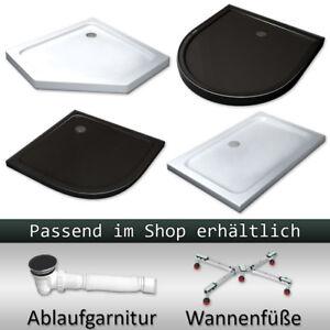 Acryl-Duschtasse-Duschwanne-Dusche-Brausewanne-Acrylwanne-50-mm-flach
