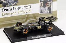 Emerson Fittipaldi Lotus 72D #8 World Champion Formula 1 1972 Altaya IXO 1/43
