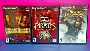 Pirates Caribbean World's End, Legend, Buccaneer -  Sony PlayStation 2 PS2 Games