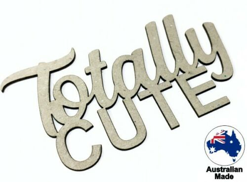 Totally Cute CT070 Cardmaking Chipboard Words for Scrapbooking