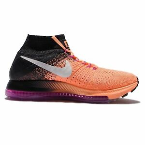 hot sale online d1190 92f62 Image is loading Nike-Womens-Zoom-All-Out-Flyknit-Running-Shoe-