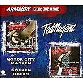 Ted Nugent - Motor City Mayhem/Sweden Rocks (2014)  2CD NEW/SEALED  SPEEDYPOST
