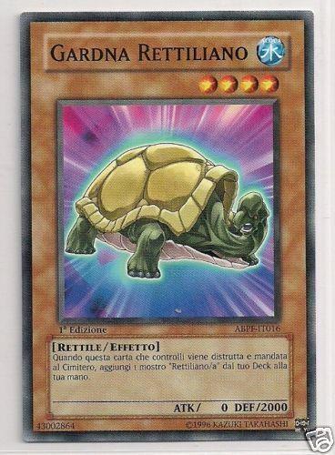 3x Gardna Reptilian - Reptilianne Gardna YU-GI-OH! ABPF-IT016 Ita COMMON 1 Ed