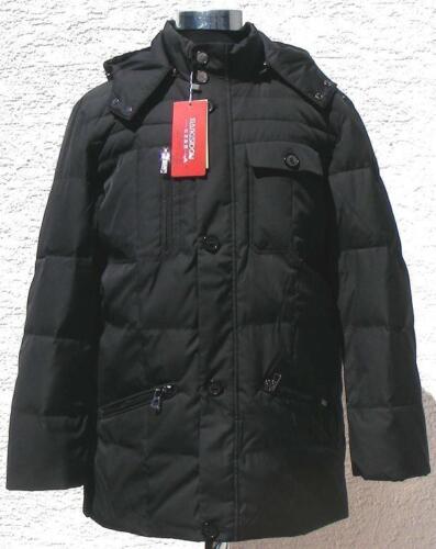 Winterjacke Outdoor Xsd3005 Für Schwarz Herren Mit Kapuze In Daunenjacke v4Rfnqf