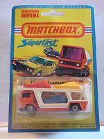 Matchbox Car Transporter Bedford Transport Voiture 11 Neuf Boite Super Fast