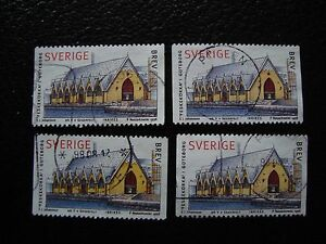 SUEDE-timbre-yvert-et-tellier-n-2023-x4-obl-A29-stamp-sweden-R
