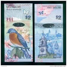 Bermuda - 2 dollars - UNC Hybrid currency note