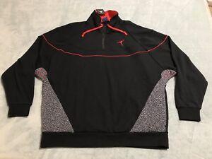 4 Cemento Sportswear L Men Large Zip Vault 3 Air 914522 Jordan 010 1 Retro Sz pE15wp07q
