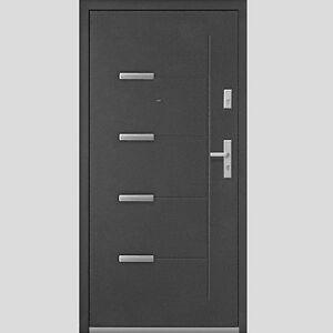 Porte D 39 Entr E En Acier Pleine Ext Rieure 2068x908