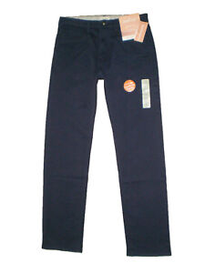 Dockers-D2-Easy-Straight-Fit-Soft-Stretch-Navy-Khakis-Mens-Size-30-36-38-40-New