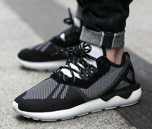 665a109e1a42 S74813 Men s Adidas TUBULAR RUNNER WEAVE Originals Trainers Shoes UK ...