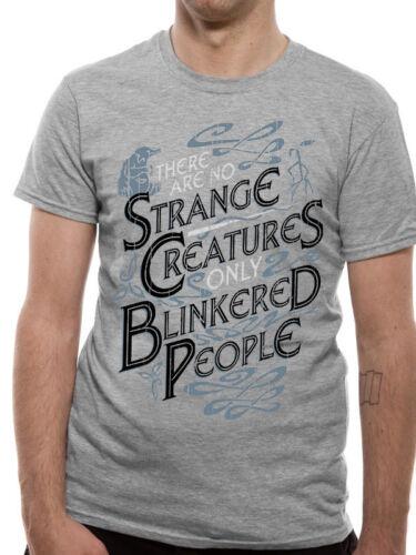 Fantastique bêtes étranges créatures crimes de Grindelwald Gris T-shirt Homme