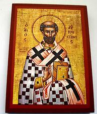 St. Augustinus Ikone Icon Icone Saint Augustine santo agostino Icono икона Ikona
