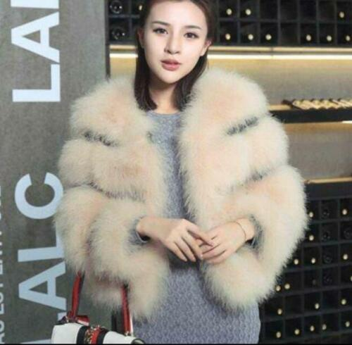 Fit Fashion Outwear Fur Coats Luksusjakker Slim New Winter Parka Women's Warm x7H8fc6q