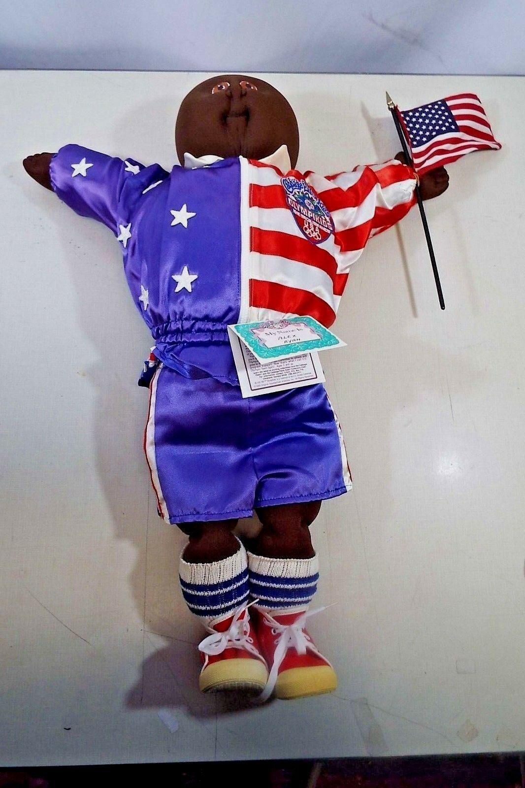 African American Cabbage Patch Kid Alex Ryan  24  1996 USA Olympic Team Mascot