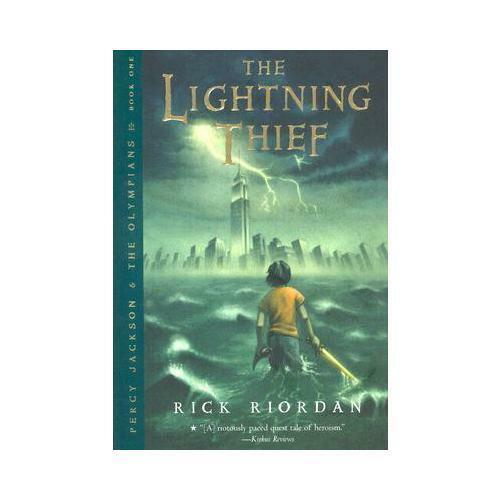 1 of 1 - Percy Jackson and the Olympians, Book One The Lightning Thief by Rick Riordan