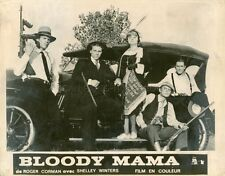SHELLEY WINTERS ROGER CORMAN BLOODY MAMA 1970 VINTAGE PHOTO ORIGINAL #8