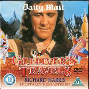 GULLIVER-039-S-TRAVELS-Richard-Harris-Children-039-s-DVD