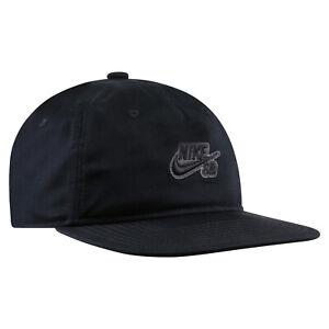 Details zu Nike SB Skate Kappe Snapback Cap Capi Herren Schwarz CI4460 010