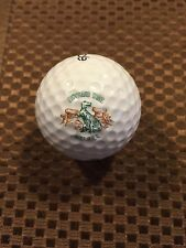 LOGO GOLF BALL-DINOSAUR TRAIL GOLF & COUNTRY CLUB....CANADA...DINOSAUR LOGO.