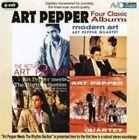 The Return of Art Pepper/Modern Art by Art Pepper (CD, Sep-2008, 2 Discs, Avid Jazz)