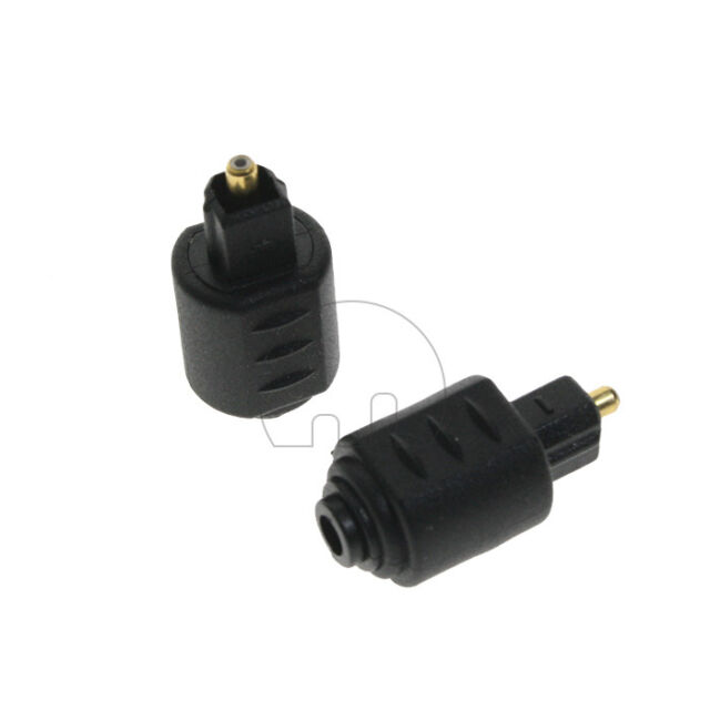 2x Mini Optical Audio Adapter 35mm Female Jack Plug To Digital Rhebayau: Mini Toslink To Optical Audio Adapter At Gmaili.net