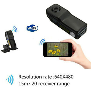 MD81 Mini WIFI Wireless HD Camera Remote Monitor Sports DV Security Mini Cam