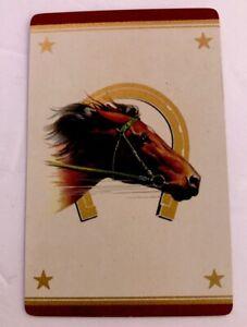Full-Suit-Deck-Vintage-Playing-Cards-Horse-amp-Horseshoe-Stars-1-Joker-Guild-Swap