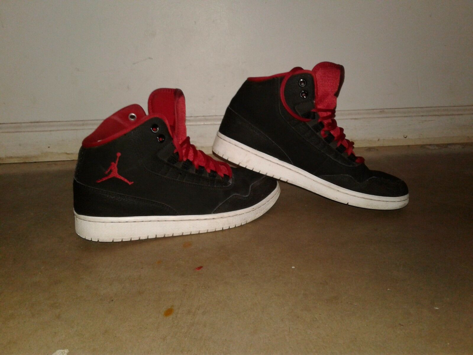 mens jordan shoes red and black size 8.5 The latest discount shoes for men and women