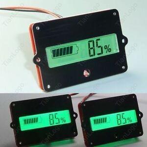 Digital lcd Lithium ion Battery Capacity Display Tester METER Lead Acid 12v car