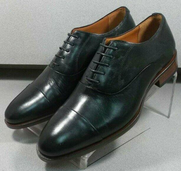 5912315 MS50 Chaussures Hommes Taille 8.5 M Noir en Cuir à Lacets Johnston & Murphy