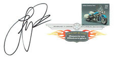 FAST Freddie SPENCER Signed Autograph First Day Cover American FDC COA AFTAL
