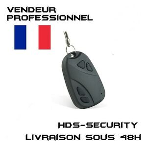 Mini-Camera-Espion-Porte-Cle-Clef-Voiture-Video-Photo-32-Go-Max-Car808-808-DVR