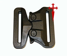 AustriAlpin Polymer GT Cobra 50mm Fixed Black Buckle (riggers belt combat ITW