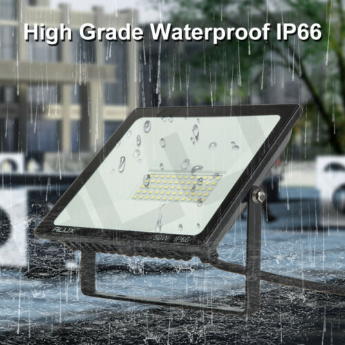 LED Floodlight Security Light 10W-100W Outdoor Garden Flood ...