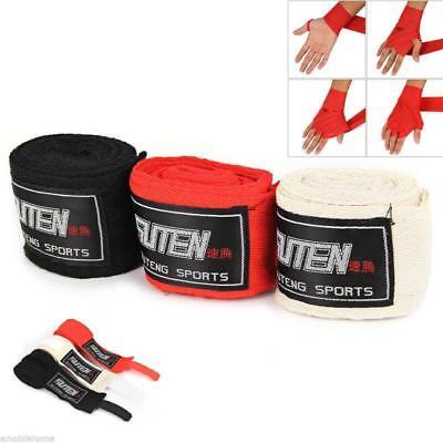 SUTEN 1 Pair Width 5cm Length 2.5M Cotton Boxing Bandage Sanda Handwrap Protect
