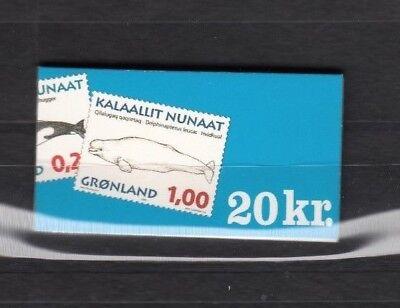 GrÖnland 25991 1997 Wale Markenheftchen 6 **,