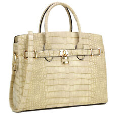 df2dcce84b91 Dasein Women Handbag Top Handles Satchel Shoulder Bag Large Purse Wallet Set