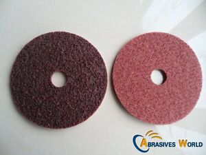 Details about 4PCS 125mm Non Woven Scotch Brite Sanding Polishing Discs For  Angle Grinder
