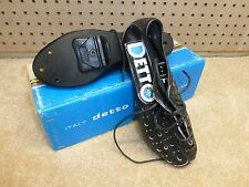 Vintage 1980's - NOS - Detto Pietro Art. 74 - Leather Cycling Shoes - Size 37