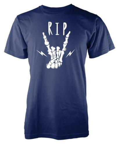 Rock N Roll RIP Adult T Shirt
